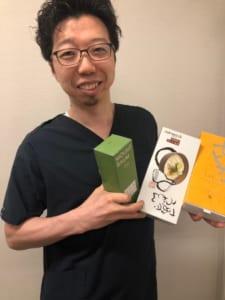 嬉しそうな福田ドクター
